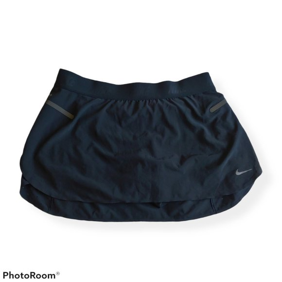 Nike dri-fit black skort tennis golf